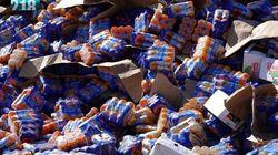 Les lots de jus Rouiba détruits en Libye