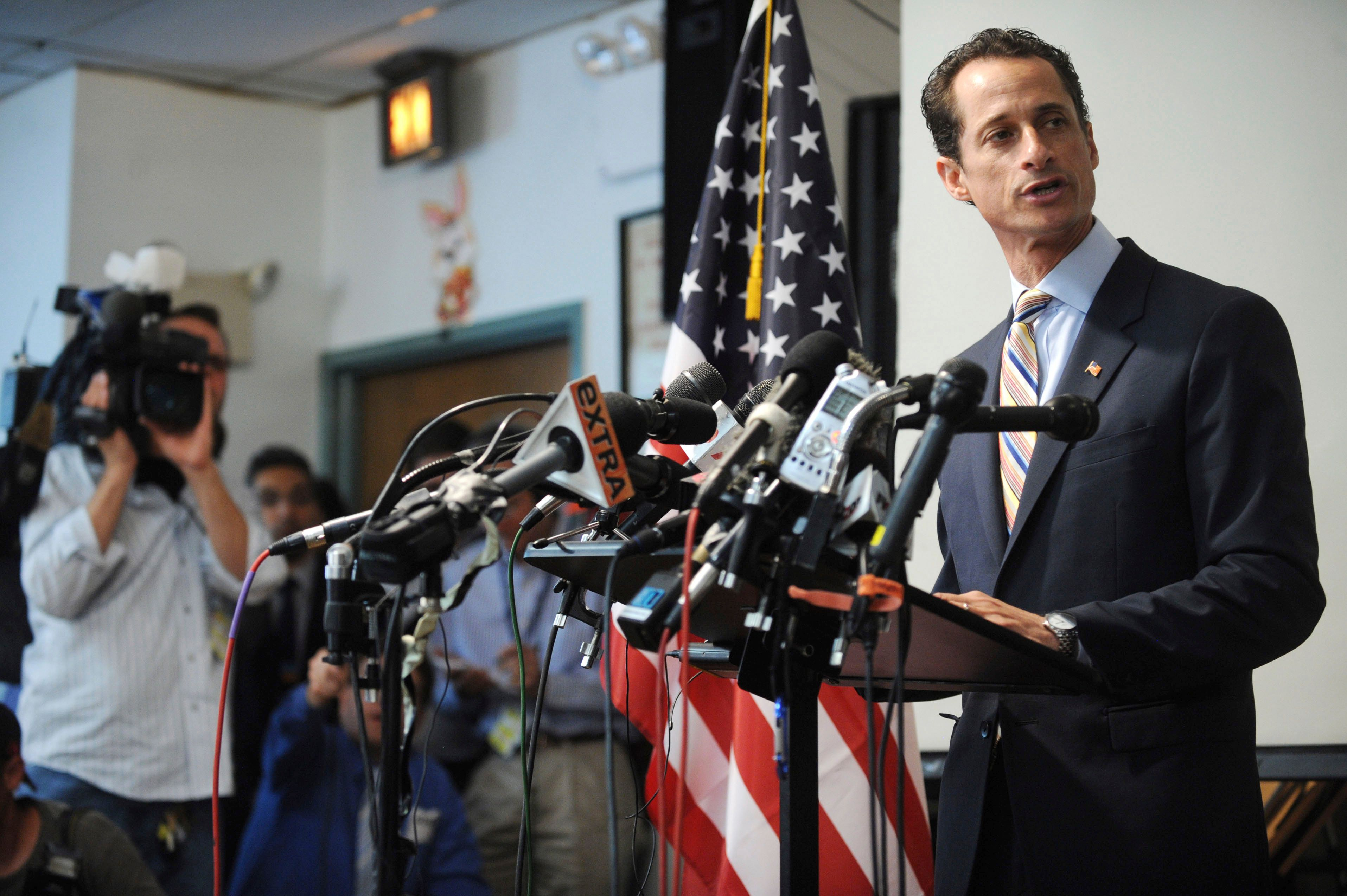 Anthony Weiner Released From Federal Prison In Massachusetts