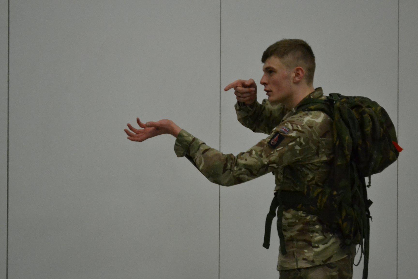 Η ιστορία του στρατιώτη με ένα κρυφό