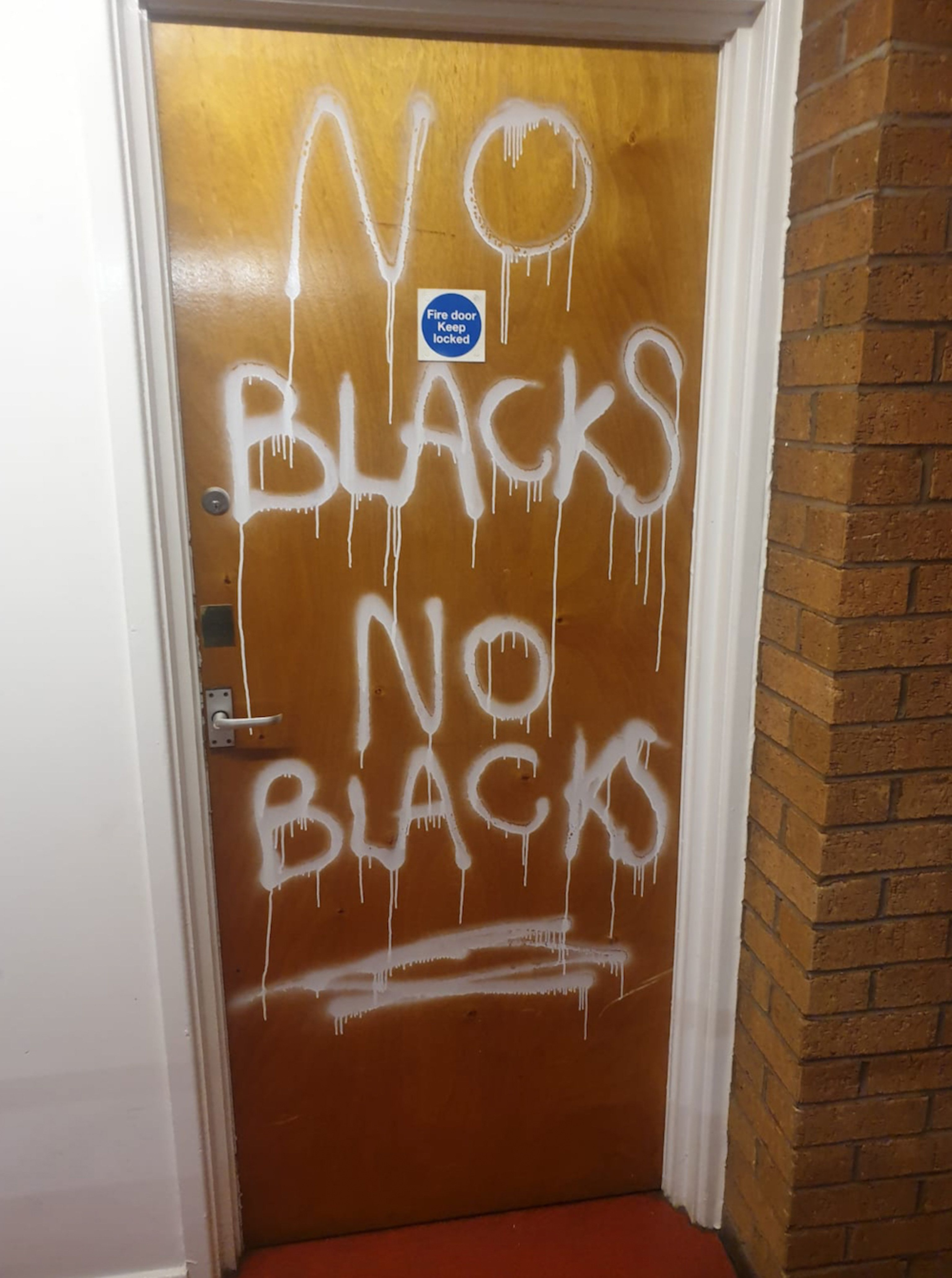 'No Blacks' Graffiti On 10-Year-Old's Home Investigated As Hate