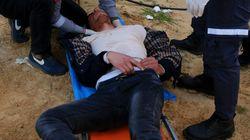 Δεκάδες τραυματίες σε επεισόδια στη Λωρίδα της