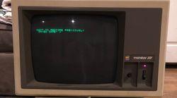 아직도 작동되는 30년 전 애플 컴퓨터를