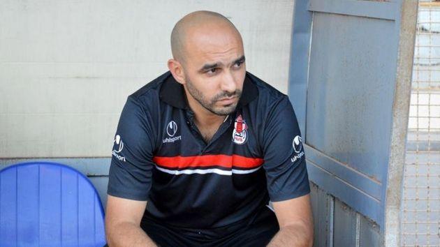 Walid Regragui, entraîneur du Fath Union Sport