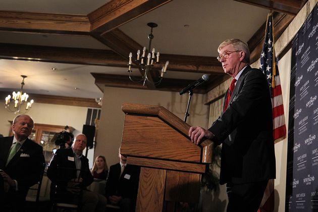 Former Massachusetts Governor Bill