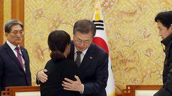 문대통령이 故 김용균씨의 가족을