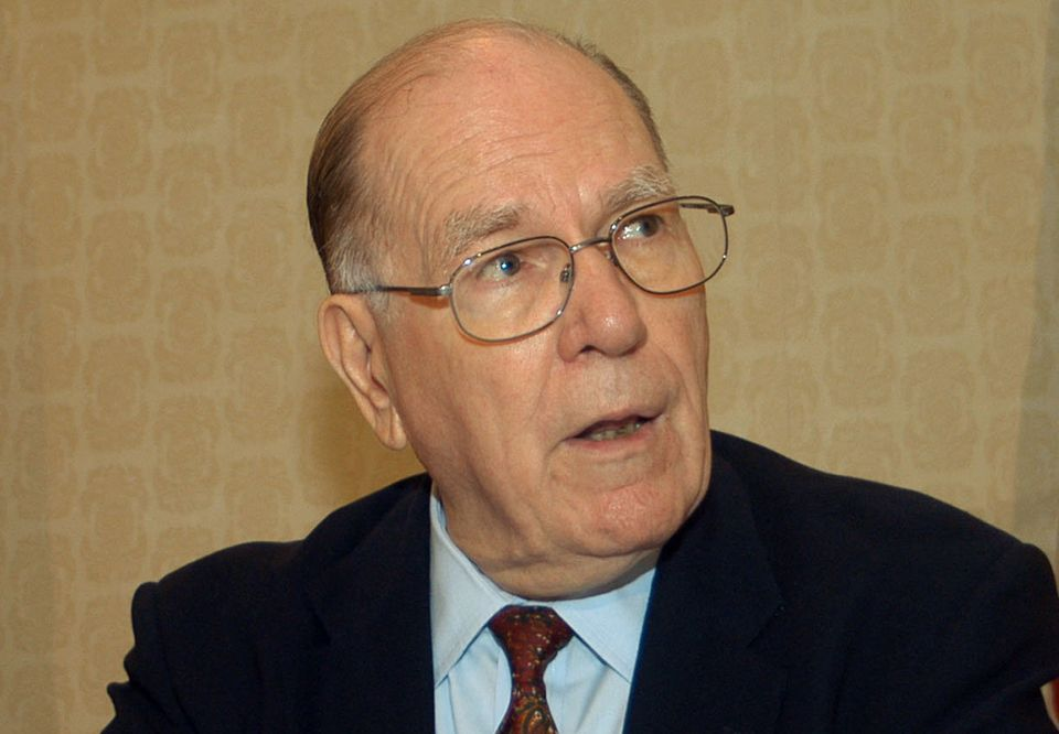 Lyndon LaRouche Jr., the political extremist who ran for president in every election from 1976 to 2004, including a campaign