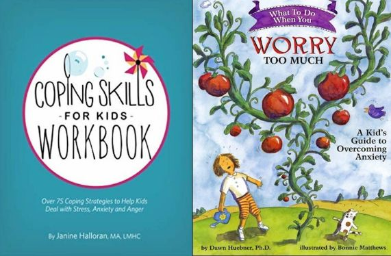 Books for kids are a great resource to combat anxiety and worry.