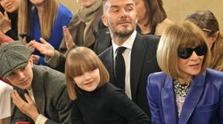 BATTLE OF THE BOBS: Harper Beckham Is Anna Wintour's Mini-Me At London Fashion