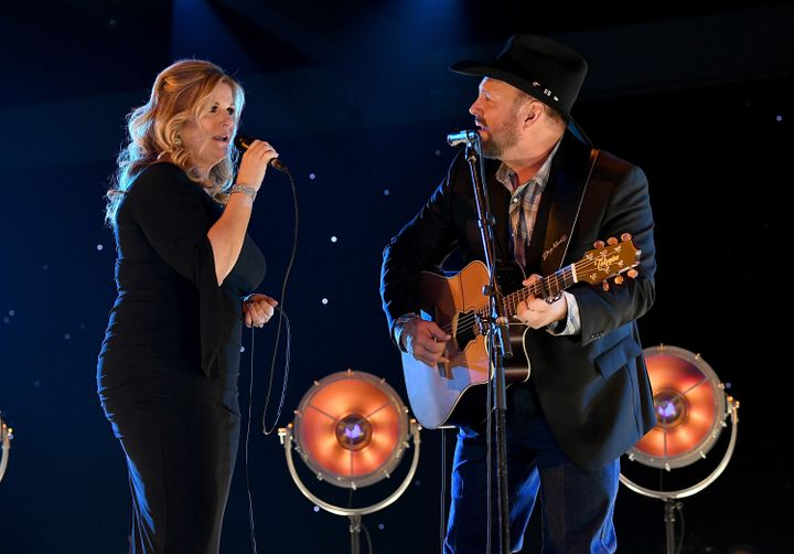 "Yearwood and Garth Brooks collaborated on a new song, ""For the Last Time,"" which appears on ""Let's Be Frank."""
