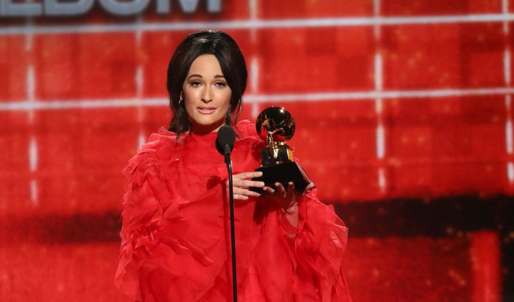 Kacey Musgraves won album of the year and three other prizes at the Grammy Awards in Los Angeles on Feb. 10, but the genre is