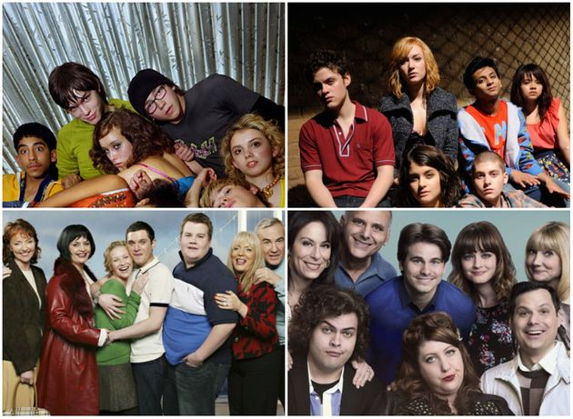 The UK and US casts of Skins and Gavin And