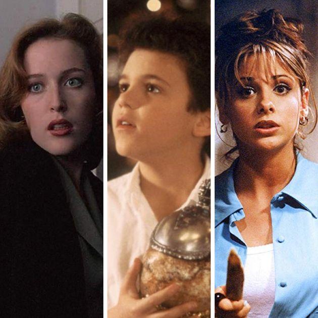 Gillian Anderson (Arquivo X),Fred Savage (Anos Incríveis),Sarah Michelle Gellar (Buffy,...