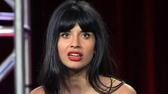 PASADENA, CA - FEBRUARY 11:  Jameela Jamil of 'The Misery Index' speaks onstage during the TBS portion of the TCA Turner Winter Press Tour 2019 Presentation at The Langham Huntington Hotel and Spa on February 11, 2019 in Pasadena, California. 510169  (Photo by Charley Gallay/Getty Images for Turner)