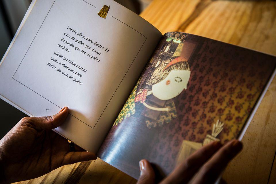 No livroO Reino de Pirapora, Janine se inspirou em uma amiga de infância e escreveu uma história...