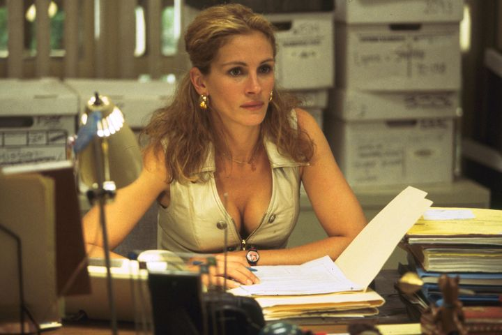 "Julia Roberts in ""Erin Brockovich."""