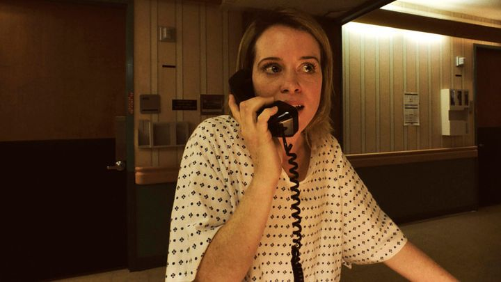 "Claire Foy in ""Unsane."""
