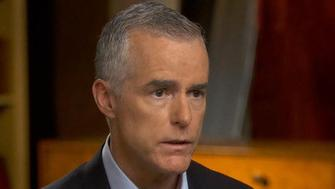"""President Trump claims former Acting FBI Director Andrew McCabe and current Deputy Attorney General Rod Rosenstein were planning an """"illegal act,"""" after McCabe alleged in a """"60 Minutes"""" interview Rosenstein mentioned the 25th Amendment process for removing a sitting president. Major Garrett reports."""