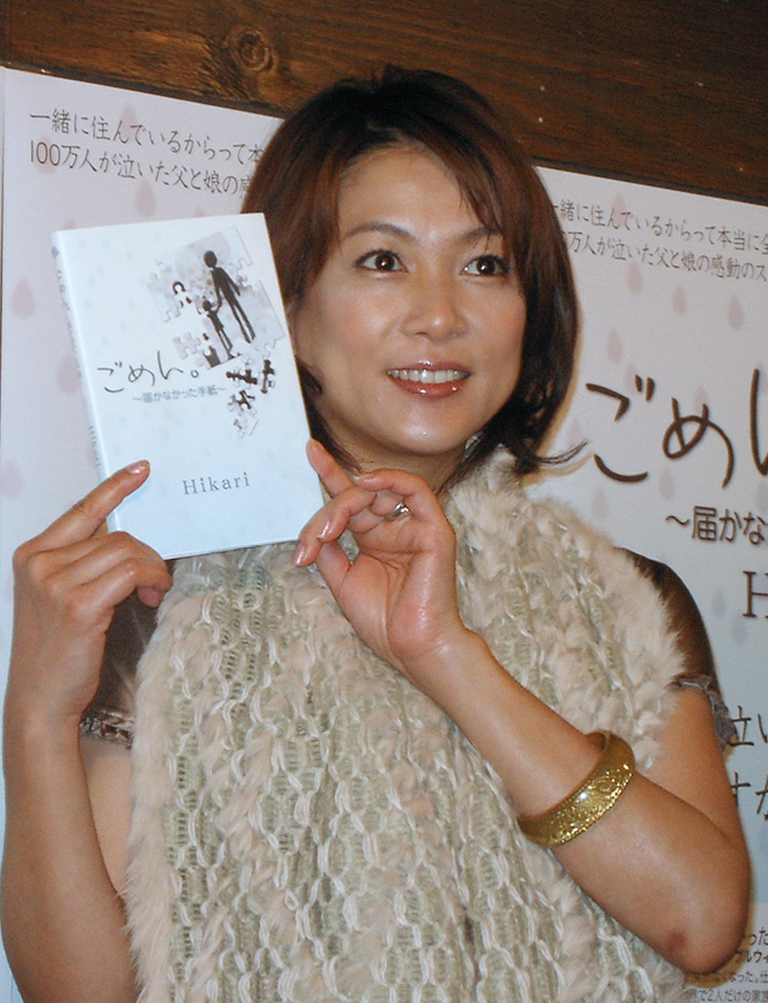 都内でオーディオブック「ごめん。~届かなかった手紙~」の公開朗読を行うタレントの堀ちえみさん(2007年撮影)