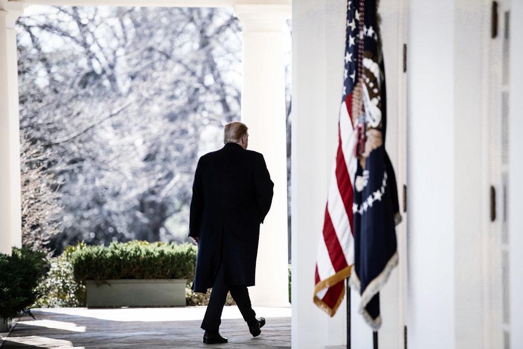 Hinter jeder Ecke einen neue Verschwörung: Donald Trump wettert haltlos gegen einen