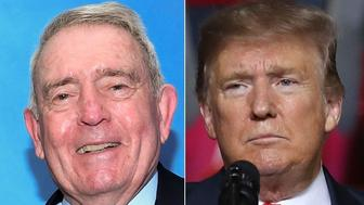 Dan Rather and Donald Trump