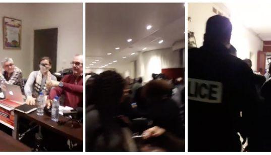 RSF demande l'ouverture d'une enquête après l'interruption brutale à Paris d'une