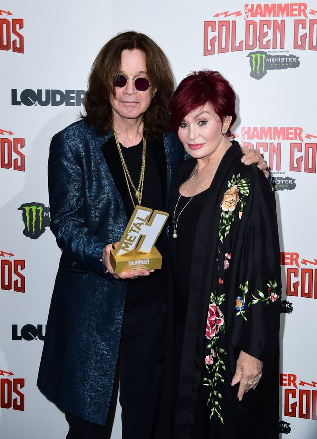 Ozzy with wife