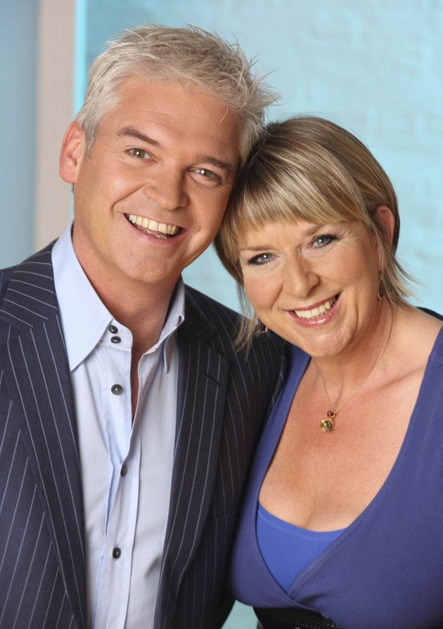 Fern presented This Morning alongside Phillip Schofield for 10