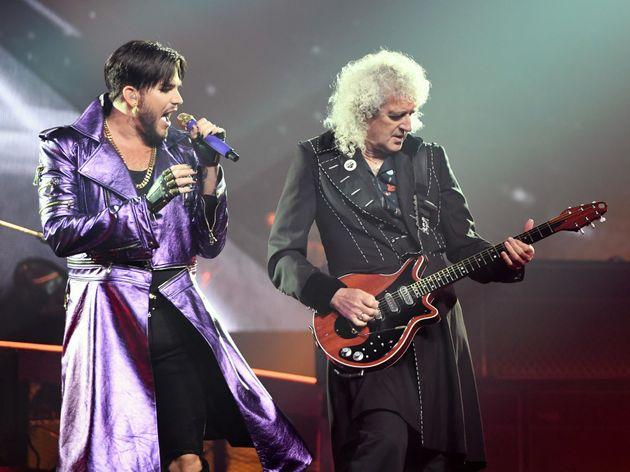Οι «Queen» live στην τελετή απονομής των