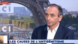Interrogé sur l'antisémitisme, Éric Zemmour enflamme la toile avec de nouveaux propos