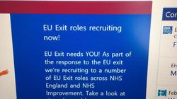 With 38 Days To Go, The NHS Is Advertising 200+ Jobs To Prepare For No-Deal