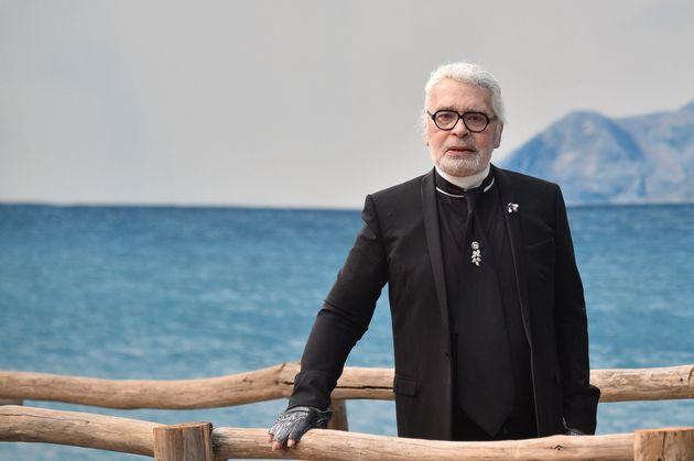 Mode-Ikone Karl Lagerfeld ist