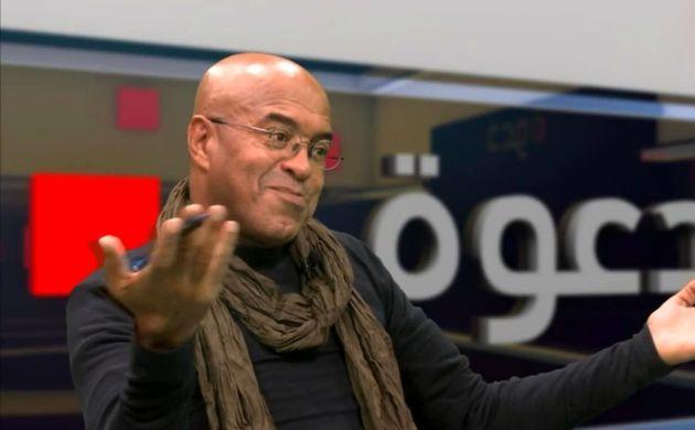 Le directeur de communication du candidat Ali Ghediri, Hmida Layachi, claque la