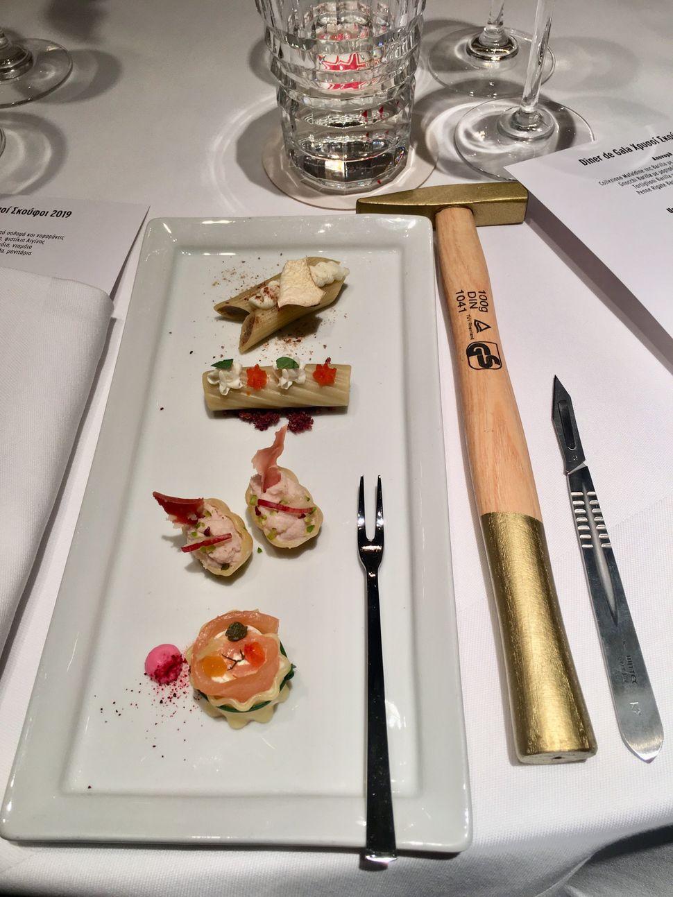 Τα amuse bouche από τονexecutive chef της «Μεγάλης Βρετανίας».