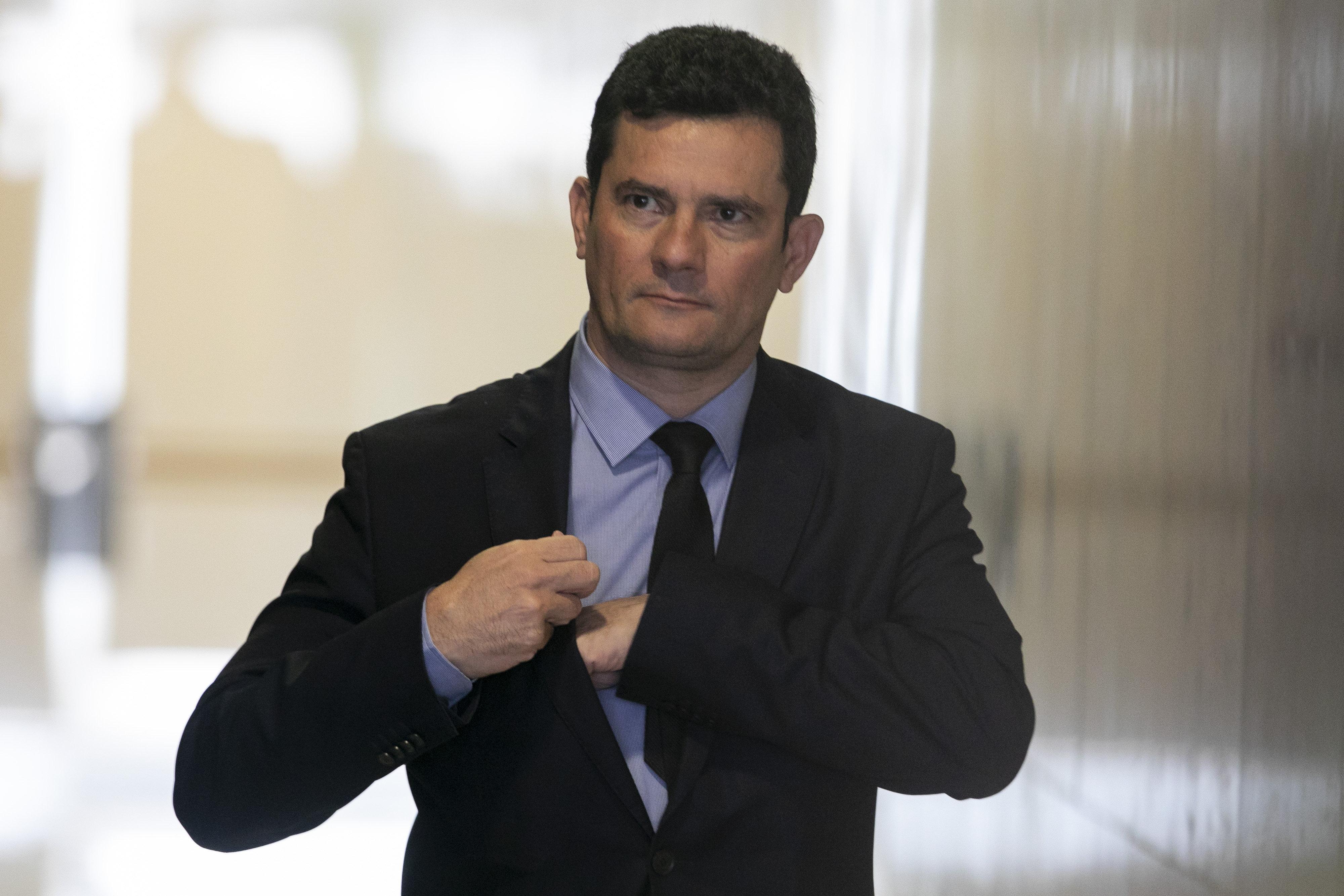 Sergio Moro diz que caixa 2 não é corrupção e fatia proposta