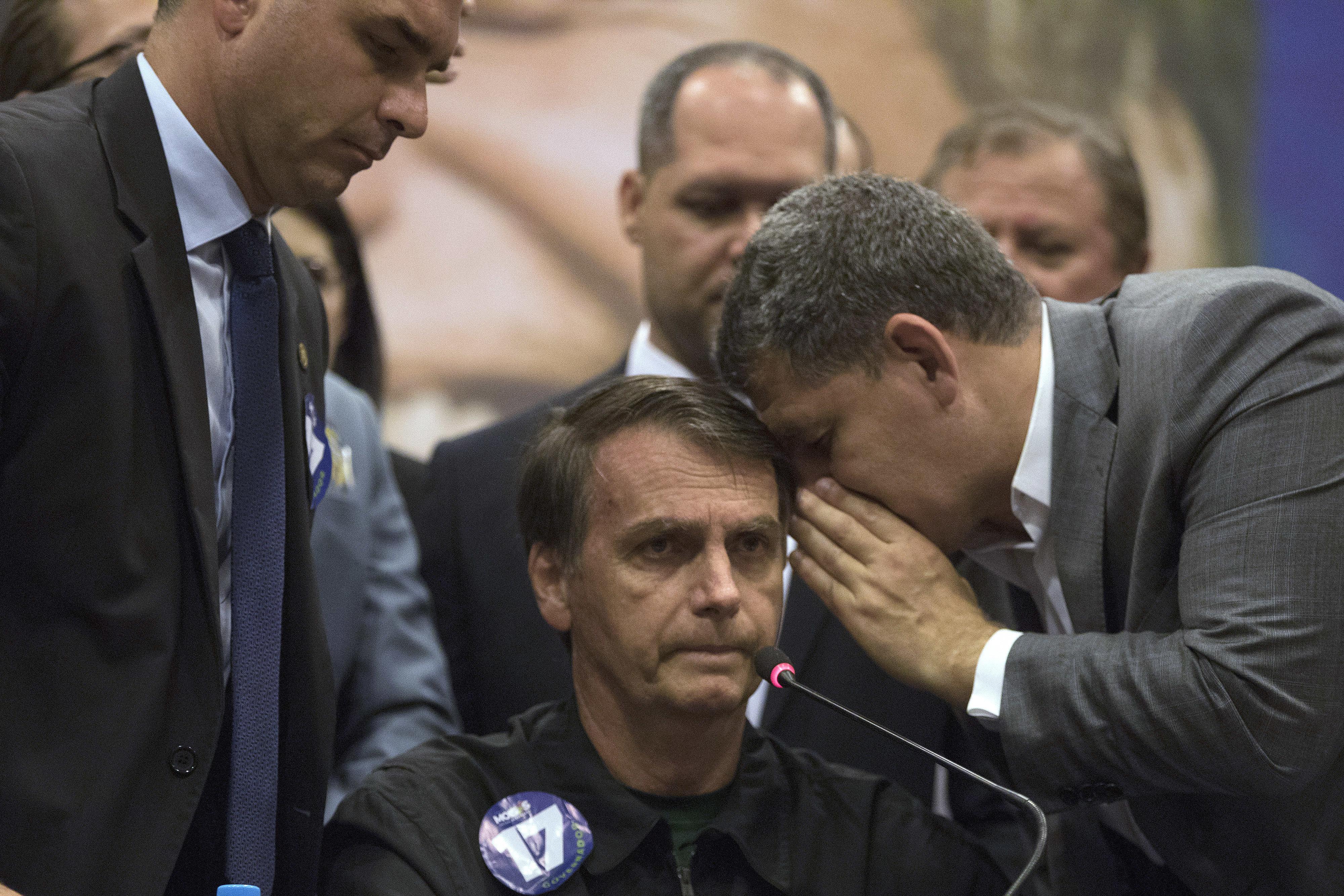 Áudios divulgados pela Veja mostram que Bebianno e Bolsonaro