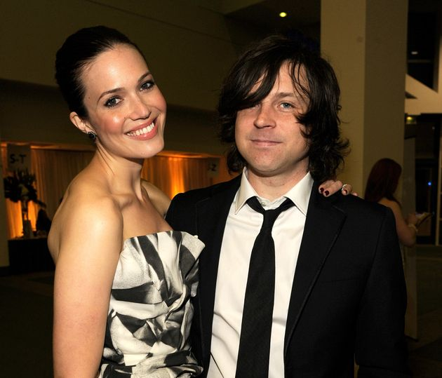 Mandy Moore and Ryan Adams attend The 2012 MusiCares Person Of The Year Gala Honoring Paul McCartney...