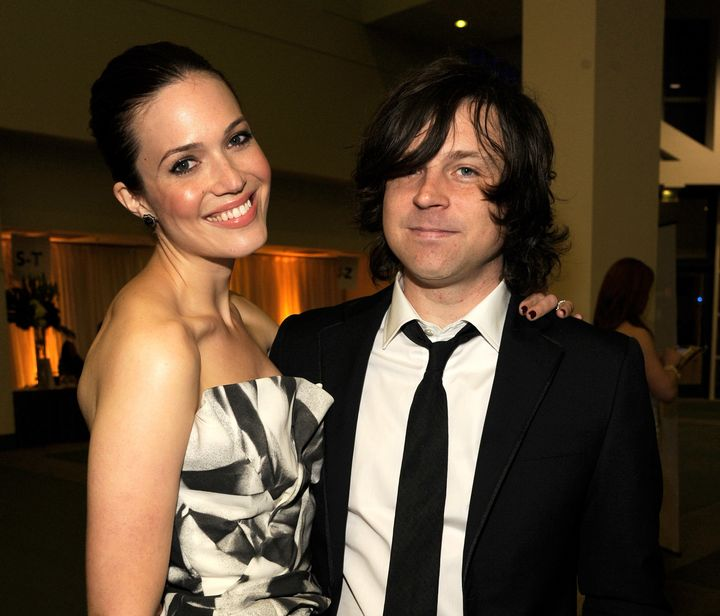 Mandy Moore and Ryan Adams attend The 2012 MusiCares Person Of The Year Gala Honoring Paul McCartney on Feb. 10, 2012 in Los