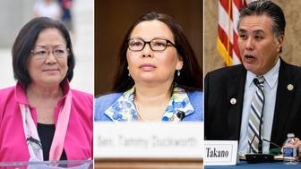 Mazie Hirono, Tammy Duckworth, Mark Takano