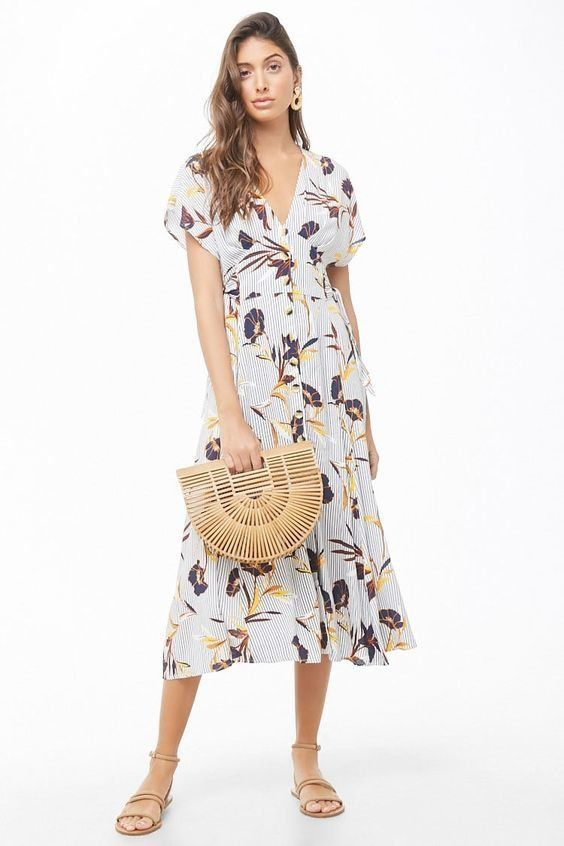 ba1525f725 Floral Dresses And Knit Sweaters Are The Perfect Winter-To-Spring ...