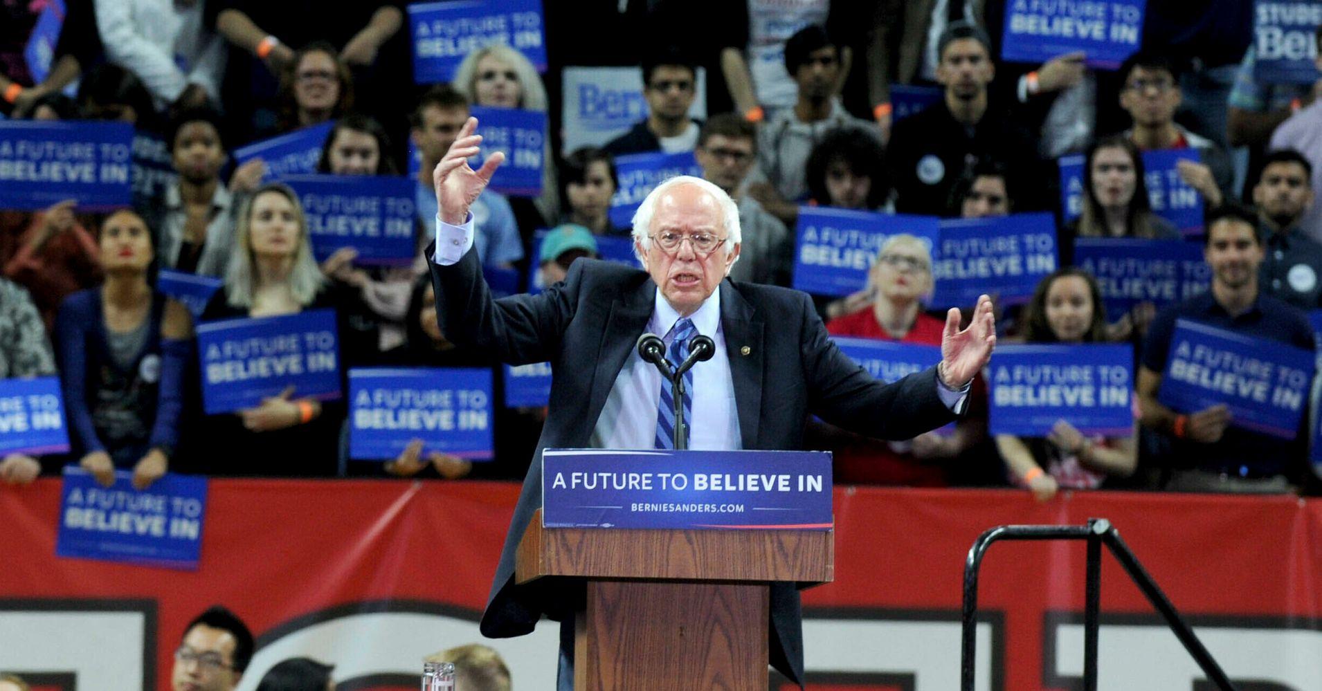 Bernie Sanders Raises $4 Million In First 12 Hours Of Presidential Bid