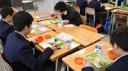 中学校昼食、15分は「短すぎる」