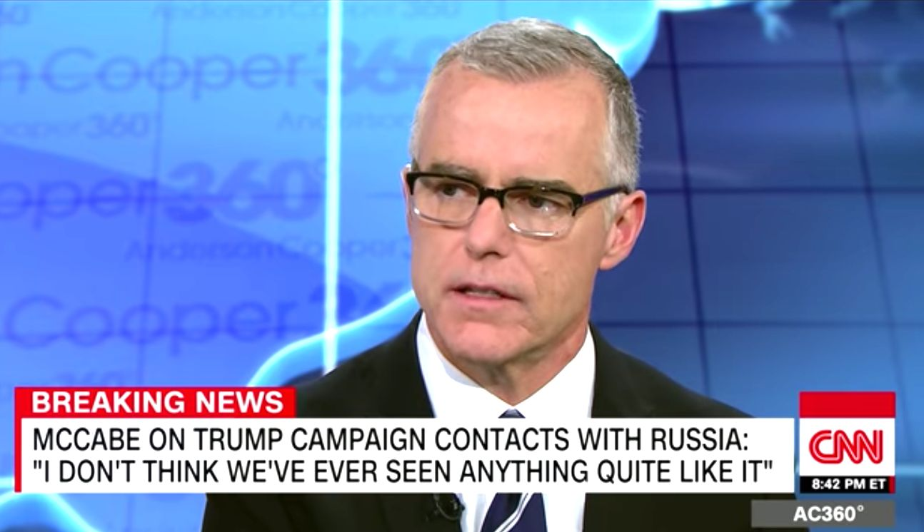 Andrew McCabe Thinks 'It's Possible' That Trump Is A Russian