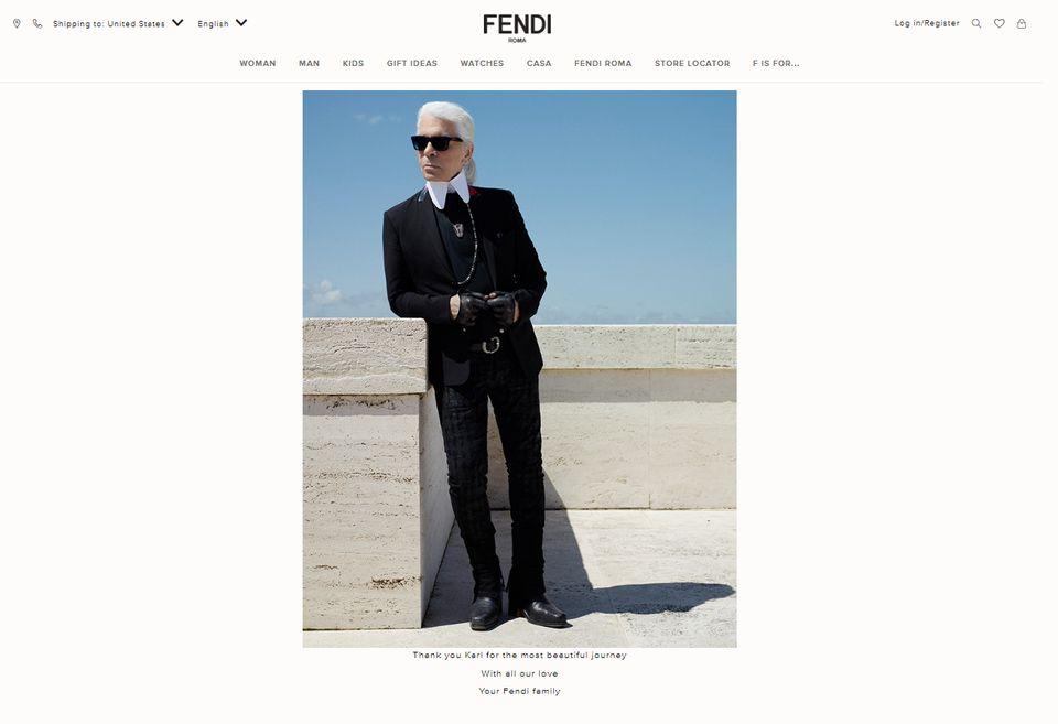 45장의 사진으로 돌아보는 '패션계 전설' 칼 라거펠트의