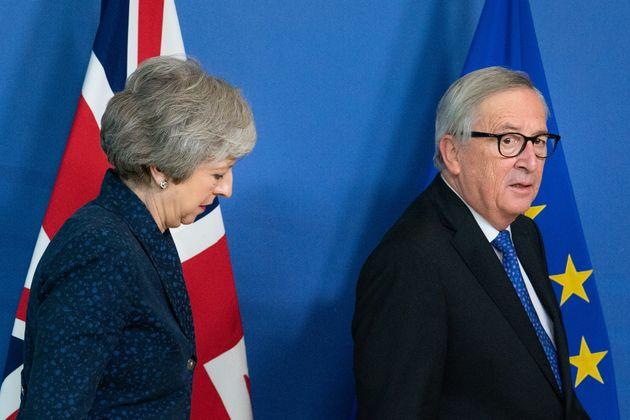 May und Juncker in Brüssel