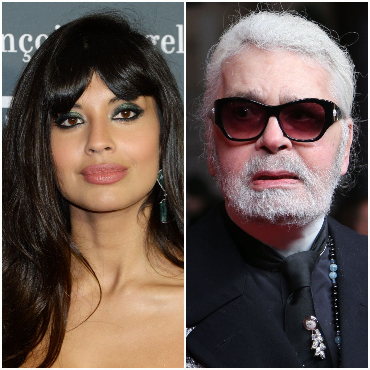 PULLING NO PUNCHES: Jameela Jamil Labels Karl Lagerfeld A 'Fat-Phobic Misogynist' Following The Chanel Designer's