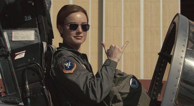 영화 '캡틴 마블'의 첫 미국 시사회를 본 사람들의