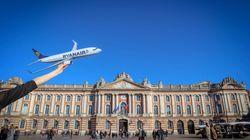 Ryanair va relier Toulouse à deux villes