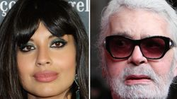 Jameela Jamil Labels Karl Lagerfeld A 'Fat-Phobic Misogynist' Following The Chanel Designer's