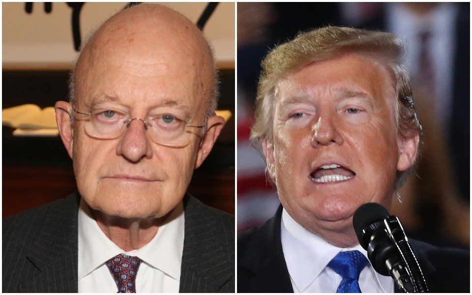 James Clapper: Trump May Be A Russian Asset 'Whether Witting Or
