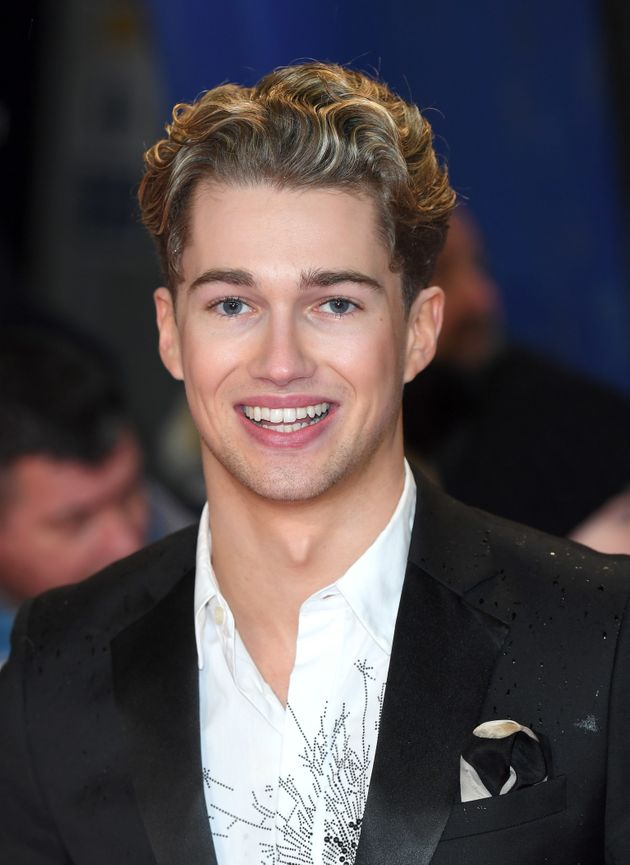 AJ Pritchard: Strictly star makes bedroom admission from